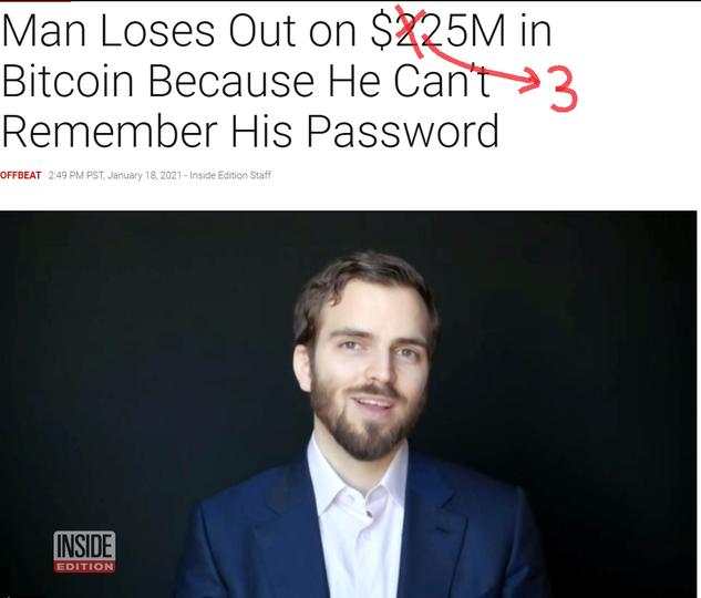 ビットコイン500万円超えで思い出したあの人