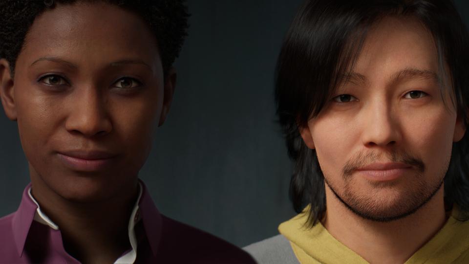 Unreal Engine凄い! ホンの数分で超リアルなCG人間が作れるツール「MetaHuman Creator」