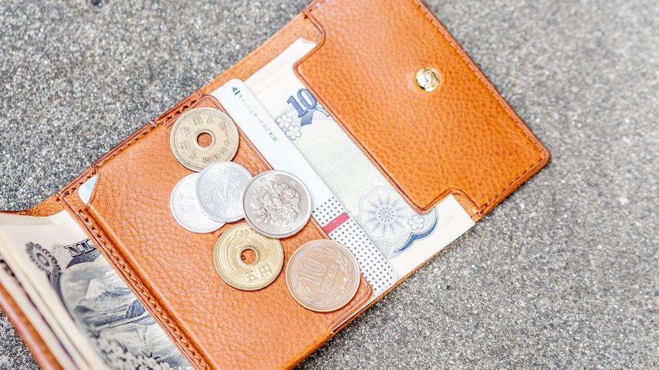 マネークリップタイプでコンパクトな三つ折り財布を使ってみた