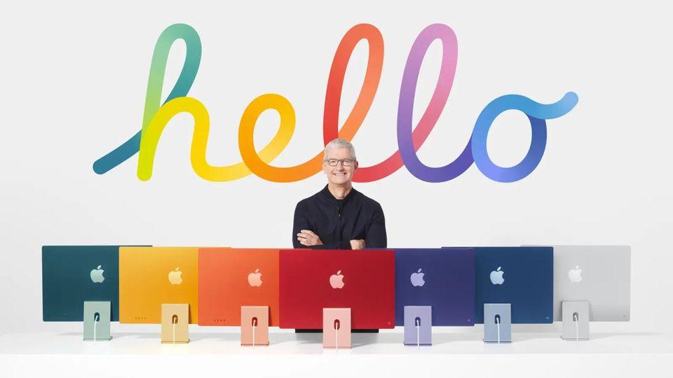 M1搭載の新iMac、カラフルなパワフルが来た! #AppleEvent
