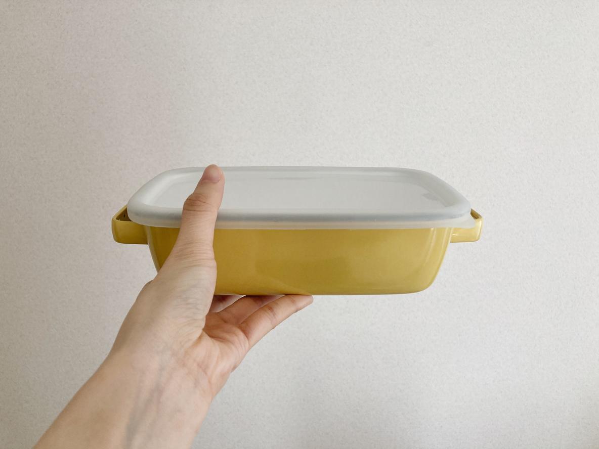 富士ホーローの容器は調理から保存までひとつで4役! そのまま食卓に出せて洗い物も減らせたよ|マイ定番スタイル