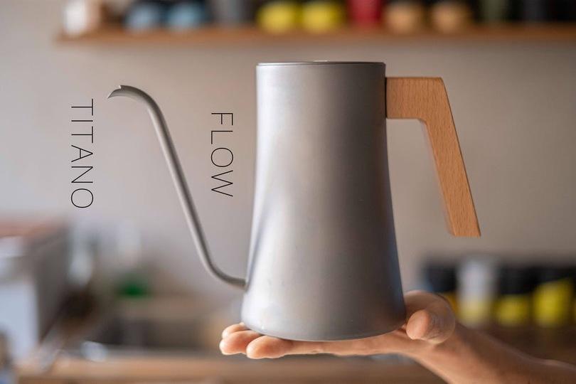 チタン専門ブランドが生んだコーヒーウェア「FLOW」が初登場