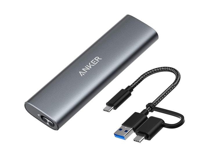 外付け高速SSDを自作できる。AnkerのM.2 SSDケースが今なら20%OFFだよ!