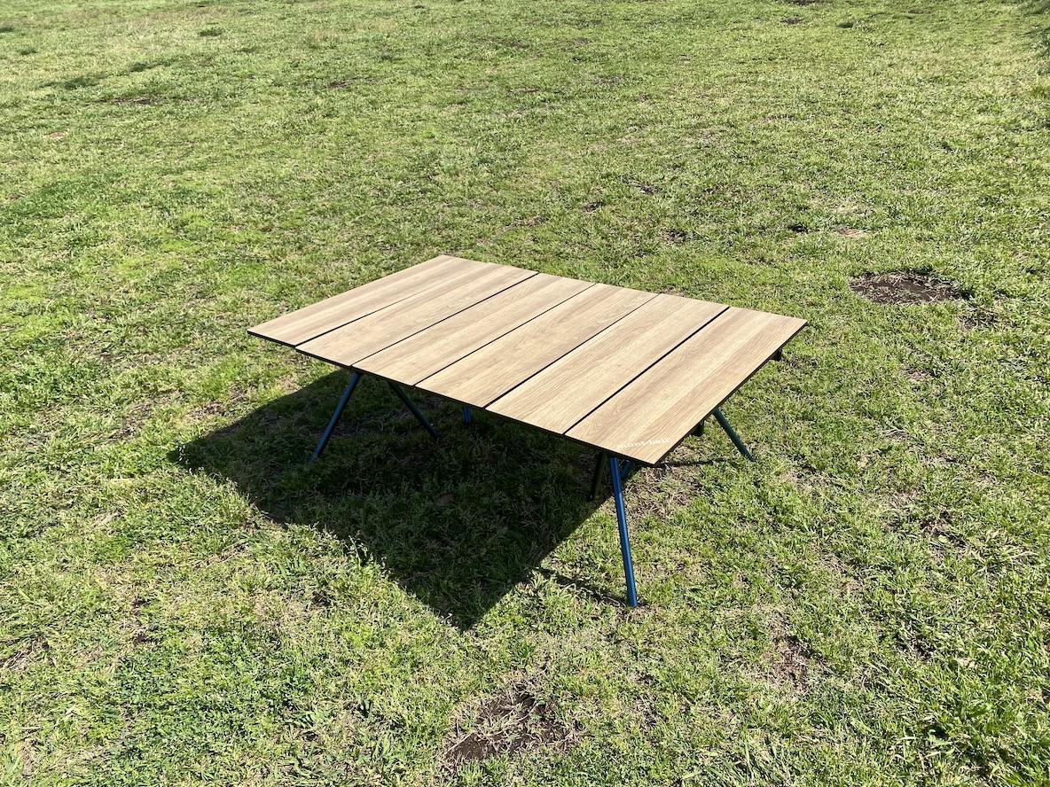 ハイスペックでグッドデザイン。モンベルのアウトドアテーブルは家でも外でも活躍する、ウワサ通りの逸品だった