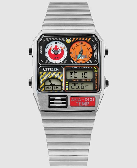 レトロでカッコ良い! シチズン「アナデジテンプ」が『スター・ウォーズ』反乱軍の腕時計「REBEL PILOT」になった