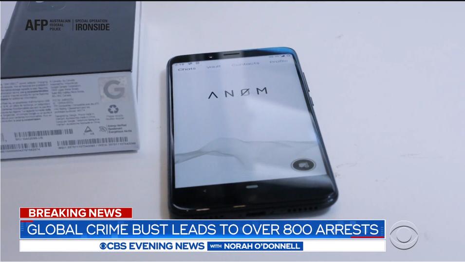 FBI内通者最恐。匿名チャットアプリ「An0m」のおとり捜査で世界の反社800余名が一斉摘発