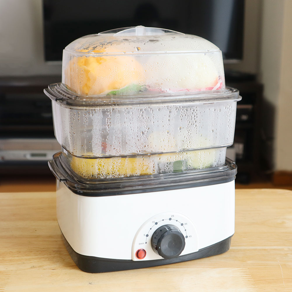 サンコーの卓上蒸し器があれば、ひとりでも簡単に「蒸し料理生活」を始められる
