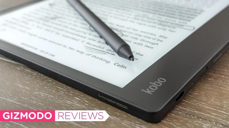楽天Kobo Elipsaレビュー:バランスはいいオールインワン。紙とペンの使用感再現はreMarkableに劣る