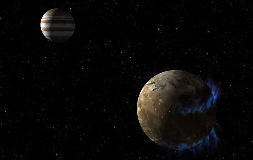 NASAの木星探査機「ジュノー」、衛星ガニメデに接近する