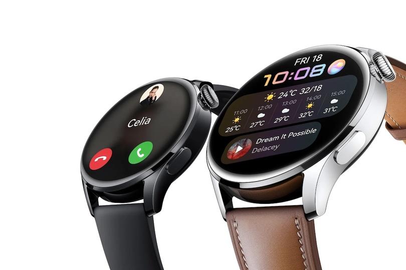 ファーウェイの新型スマートウォッチHuawei Watch 3/3 Pro。新OS搭載です