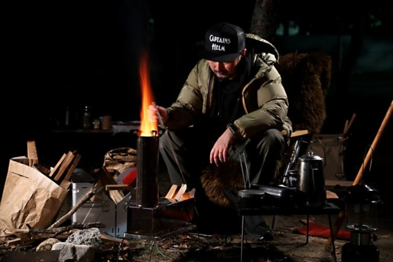 火を余すことなく使えるキャンプギア「Bonflame」のキャンペーンが終了間近