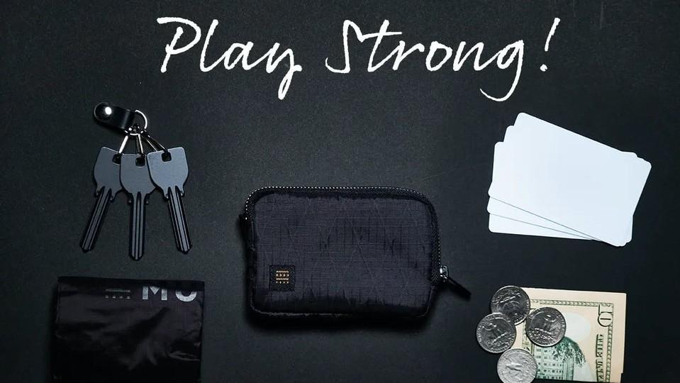 財布&鍵&エコバッグがひとつになった多機能ケース「MUZOSA X-PAC」