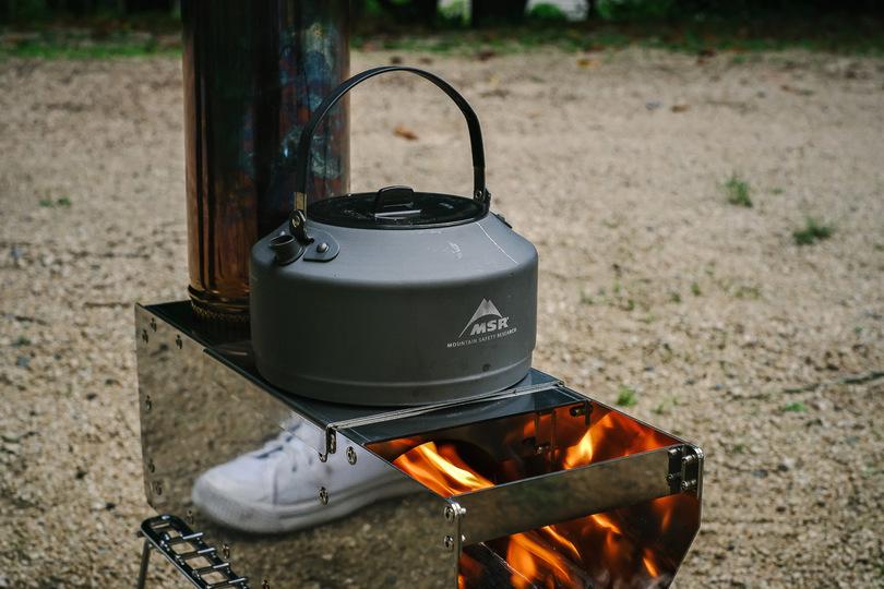 燃やして調理して温める! 国産ロケットストーブでキャンプを楽しんでみた