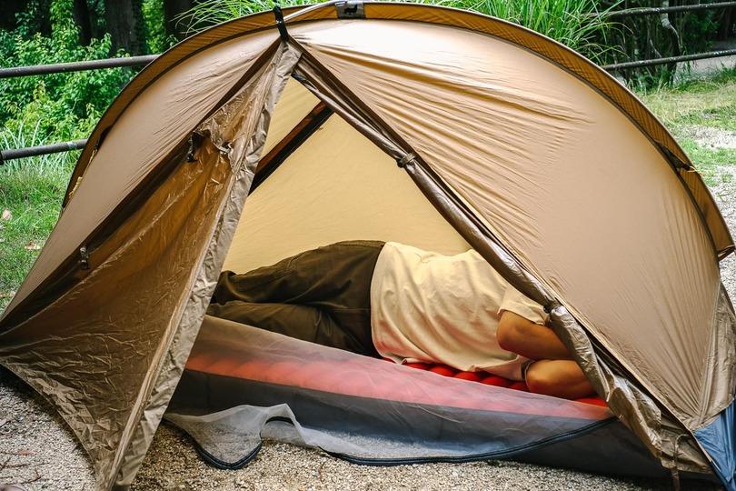 100人テントも作れる!?  連結拡張機能がユニークなオールインワンソロテントを使ってみた