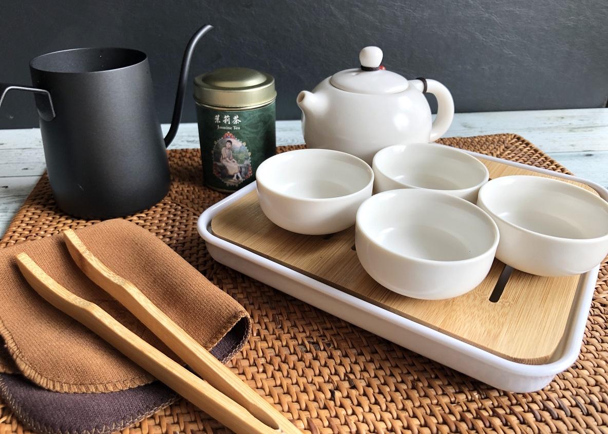 3000円代で買える「中国茶器セット」で、おうち時間が潤った話。寝る前にお茶の香りでホッと一息〜|マイ定番スタイル