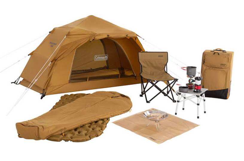 これからキャンプを始めたい人向け! コールマンが10アイテムをキャリーバッグにまとめたスタートパッケージを発売